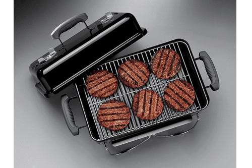 Charcoal Grill Features