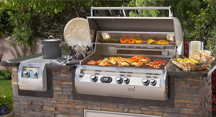 Best built in gas grills 2019 reviews buying guide for Gasgrill fur outdoor kuche