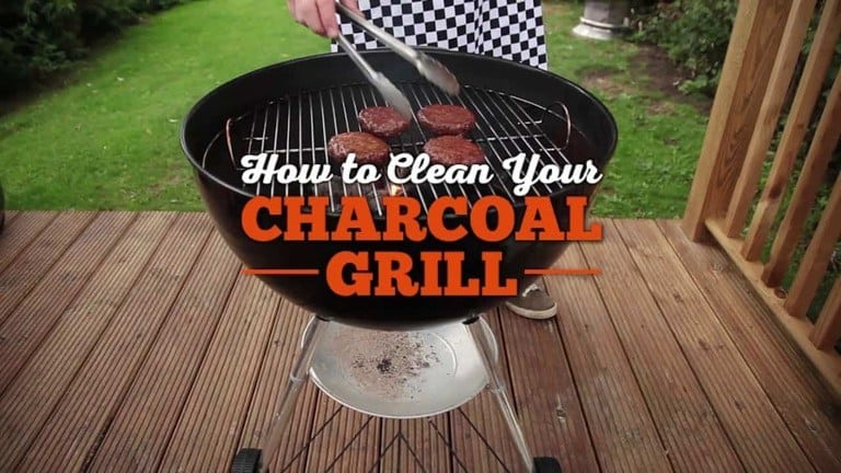 How To Clean And Maintain A Charcoal Grill