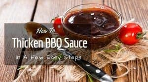 how to thicken bbq sauce easy