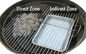 indirect grilling 2 zone