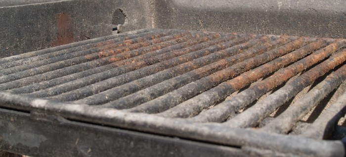 prevent grill from rusting