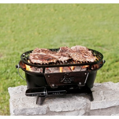 cast iron habachi grill