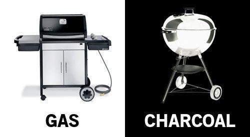Should I use a charcoal grill or a gas grill?